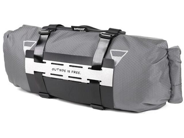 WOHO X-Touring Bolsa Seca de manillar, gris